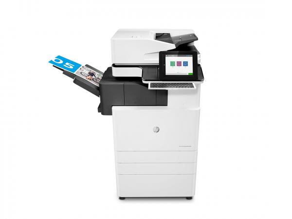 HP color multifunction printer model E87660z